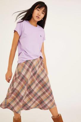 Urban Renewal Vintage Plaid Midi Skirt