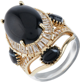 Accessorize Jet Statement Cocktail Ring