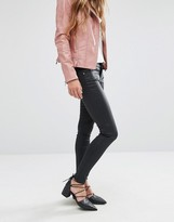 MANGO Coated Skinny Jean