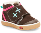 See Kai Run Toddler Girls) Brown & Pink Kiki Shoes