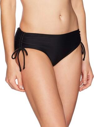 Coastal Blue Women's Swimwear Boyshort Bikini Bottom