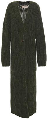 Gentry Portofino Gentryportofino Donegal Cable-knit Cashmere Cardigan