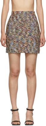 Missoni Multicolor Zig Zag Miniskirt