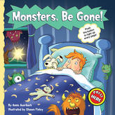Americhip Monsters, Be Gone! Halloween Interactive Book
