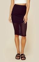 KENDALL + KYLIE laser cut skirt