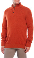 Alex Cannon Speckled Knit Wool-Blend Sweater