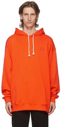 Acne Studios Orange Patch Hoodie
