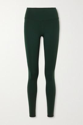 Alo Yoga Airbrush Stretch Leggings - Dark green