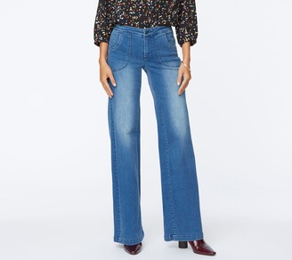 NYDJ Teresa Trouser Jeans with Utility Pockets- Admiration