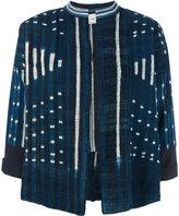 Forte Forte batik cropped jacket - women - Cotton - 0
