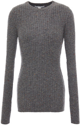 Autumn Cashmere Donegal Ribbed Cashmere Sweater