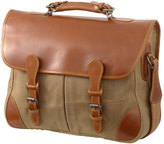 Mulholland 'Anglers Business LogicTM' Waxed Canvas & Leather Bag