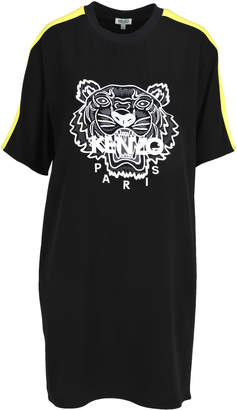 Kenzo Embroidered Tiger T-shirt Style Dress
