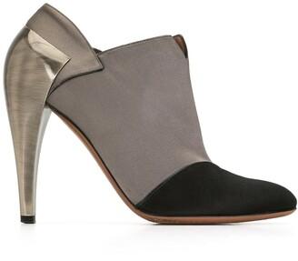 Alaïa Pre-Owned Metal Heel Ankle Boots