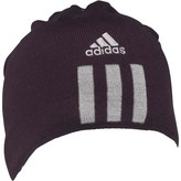 adidas Essentials 3 Stripe Beanie Hat Black/Medium Grey Heather