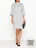Reiss Mccarthy Seam Detail Shirt Dress