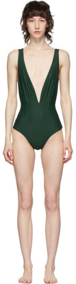 Haight Green One-Piece Swimsuit