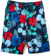 Kanu Surf Navy & Red Hangout Floral Boardshorts - Toddler & Boys
