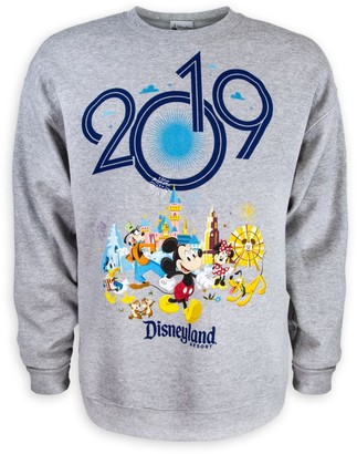 Disney Mickey Mouse and Friends Fleece Sweatshirt for Adults Disneyland 2019