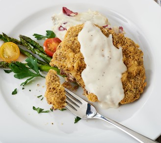 Heartland Fresh (18) 5-oz Country Fried Steaks with Gravy