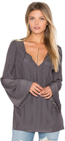 Ramy Brook Amelia Tie Neck Blouse