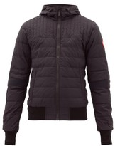 Canada Goose - Cabri Quilted Hooded Jacket - Mens - Black