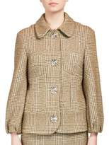 Simone Rocha Textured Jacket with Large Buttons