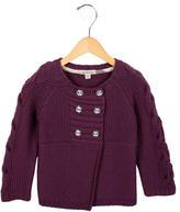 Burberry Girls' Wool Long Sleeve Sweater