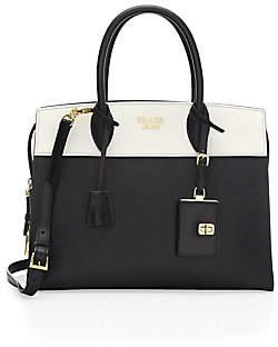 884486f82863 Prada Leather Satchel - ShopStyle