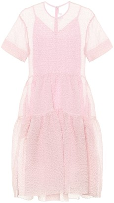 Victoria Victoria Beckham Cloque midi dress