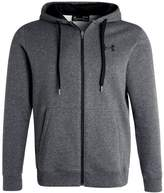 Under Armour Rival Fitted Tracksuit Top Carbon Heather