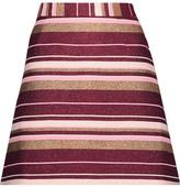 Zimmermann Karmic Metallic Striped Cotton-Blend Canvas Mini Skirt