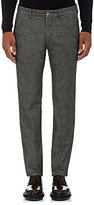 Mason Men's Cotton-Blend Trousers-DARK GREY