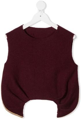 Little Creative Factory Kids Lyrical wool vest