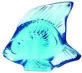 Lalique Pale Blue Fish