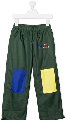 Bobo Choses Colour Block Patch Trousers