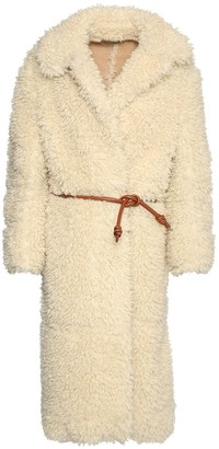Stella McCartney Faux Shearling Long Coat