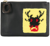 J.W.Anderson crochet patch clutch