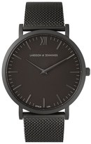 Larsson & Jennings 'Lugano' Mesh Strap Watch, 40mm