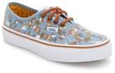 Vans Boy's X Disney Pixar Toy Story(TM) Woody Authentic Sneaker