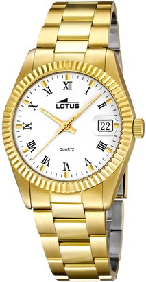 Lotus Women's Analogue Quartz Watch with Stainless Steel Strap 15824/1
