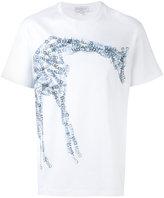 Salvatore Ferragamo giraffe logo T-shirt - men - Cotton - S