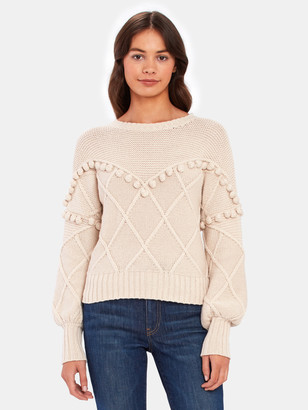 NSF Kaaya Textured Pullover Sweater