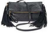 JLO by Jennifer Lopez Camilla Fringed Crossbody Bag