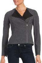 Calvin Klein Asymmetrical Zip-Front Jacket