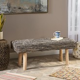 Bungalow Rose Vaughn Upholstered Bench