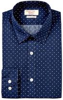 Original Penguin Star Print Slim Fit Dress Shirt