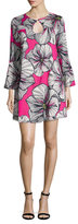 Trina Turk Pamelia Silk Floral Printed Shift Dress