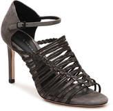 Elie Tahari Women's Imperial Sandal -Grey/Pewter