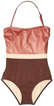 Flagpole Rita One-Piece (Rose Gold/Bronze/Morganite) Women's Swimsuits One Piece